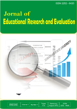 Journal of Educational Research and Evaluation
