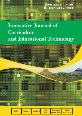 Innovative Journal of Curriculum and Educational Technology